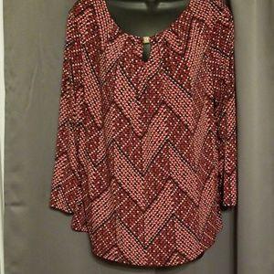 Anne Klein womens blouse size XL